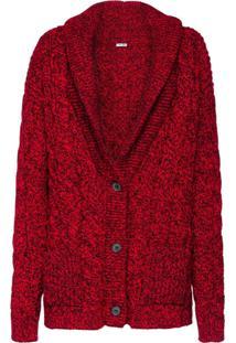 9441f4f4f5 Miu Miu Cardigan De Tricô - Vermelho
