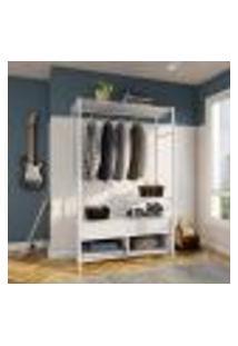 Guarda-Roupa Closet Modulado Valência Branco