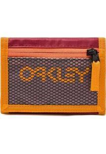 Carteira Oakley 90'S Wallet Masculina - Masculino-Vermelho