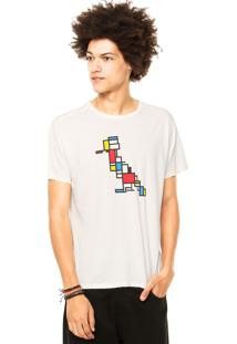 Camiseta Reserva Mondrian Off-White