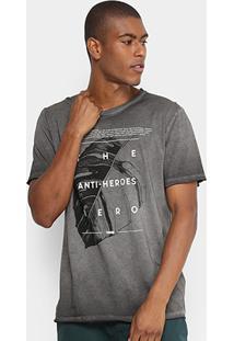Camiseta Forum Degradê Masculina - Masculino-Preto