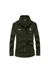 Camisa Masculina Air Force - Verde