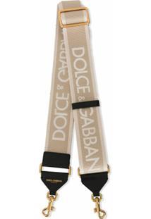 Dolce & Gabbana Alça Para Bolsa Com Estampa De Logo - 8N198 Multi Color