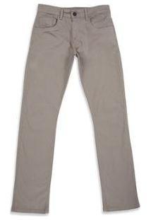 Calça Oakley 5 Pocket - Masculino-Cinza