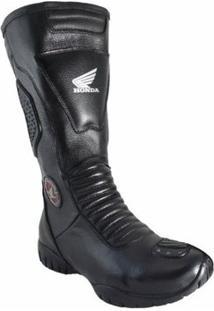 Bota Motociclista Atron Shoes Honda - Masculino