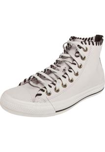 Tênis Converse All Star Ct As Leather Hi Off White