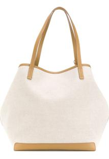 The Row Bolsa Tote Oversized 'Park' - Neutro
