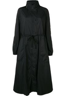 Moncler Jaqueta 'Mouette' Longa - 999 Black