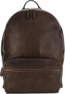 Eleventy Classic Backpack - Marrom