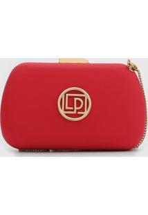Bolsa Lança Perfume Logo Vermelha