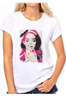 Camiseta Coolest Lana Del Rey Feminina - Feminino