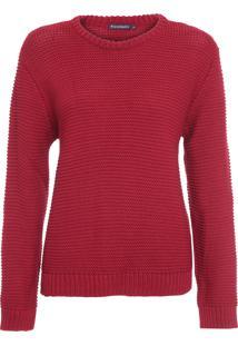 Suéter Feminino Bianca - Vermelho