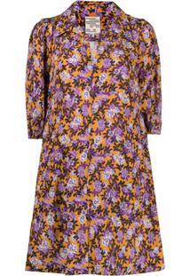 Baum Und Pferdgarten Vestido Com Estampa Floral - Amarelo