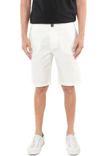 Bermuda Hering Chino Lisa Off-White