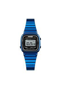 Relógio Skmei Feminino -1252- Azul
