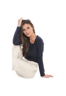 Camiseta Liz Lisa Azul-Marinho