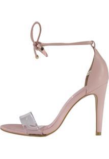 Sandália Minimalista Week Shoes Vinil 3 Tiras Rosé
