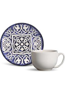 Xícara De Chá Coup Ankara Cerâmica 6 Peças Porto Brasil