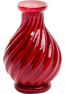 Vaso Le Lis Blanc Casa Galata Iv Red Vermelho (Vermelho Medio, Un)