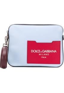 Dolce & Gabbana Logo Clutch Bag - Amarelo