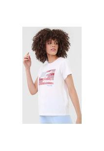 Camiseta Polo Ralph Lauren Bordada Branca