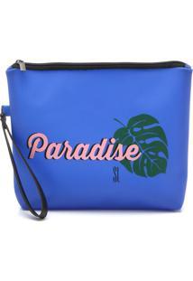 Clutch Santa Lolla Paradise Azul