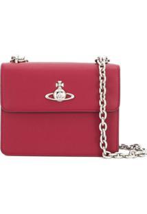 Vivienne Westwood Bolsa Tiracolo Com Logo - Vermelho
