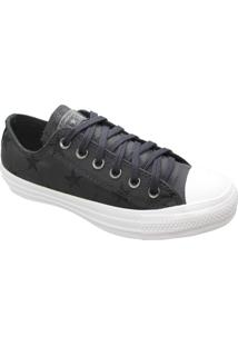 Tênis Converse All Star Chuck Taylor Twisted Archive Ox Preto Branco Ct13700001 - Kanui
