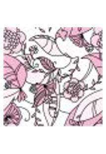 Papel De Parede Autocolante Rolo 0,58 X 3M - Floral 513