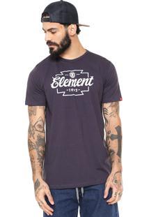 Camiseta Element Wedge Roxa