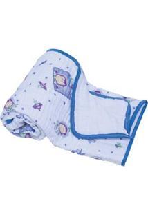 Cobertor Soft Estampado Disney Buzz - Azul