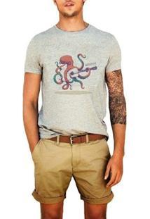 Camiseta Octopus - Masculino