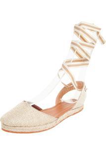 Alpargata Dafiti Shoes Corda Bege