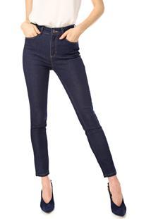 Calça Jeans Dudalina Skinny Essentials Azul-Marinho