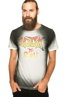 Camiseta Local Rock Multicolorida