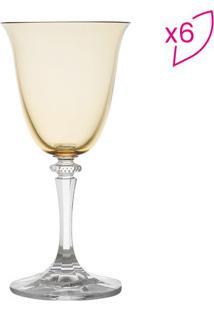 Jogo De Taças Para Vinho Branco Kleopatra Branta- Cristarojemac