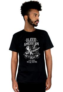 Camiseta Bleed American Swallow Preta