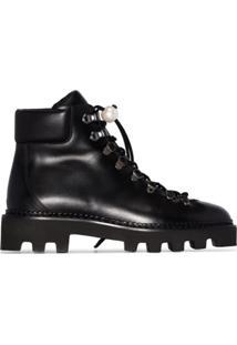 Nicholas Kirkwood Ankle Boot Com Amarração 'Delfi' - Preto