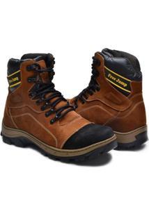 7f774d1fb3 ... Sapato Bota Coturno Adventure Em Couro Nobuck Masculina -  Masculino-Mostarda