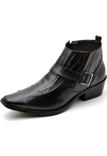 Bota Top Franca Shoes Casual Preto