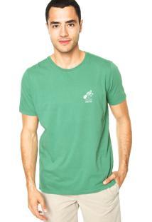 Camiseta Colcci Reta Verde