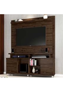 Estante Para Tv Até 65 Polegadas 2 Portas Aspen Rustic - Móveis Germai