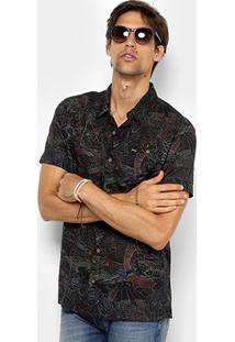 Camisa Redley Manga Curta Estampada Masculina - Masculino