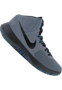 Tênis Nike Air Precision - Masculino - Cinza/Preto
