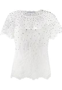 Ermanno Scervino Embellished Blouse - Branco
