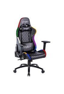 Cadeira Gamer Husky Gaming Blizzard Rgb, Preto, Luz Rgb, Com Almofadas, Reclinável - Hbl-Rgb