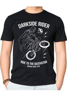 Camiseta Darkside Rider Geek10 - Preto