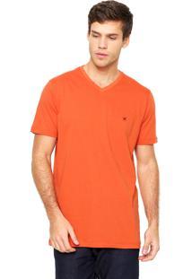 Camiseta Polo Play Lisa Laranja