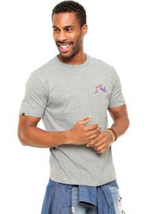 Camiseta Rusty Bc Bedrock Cinza