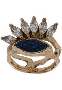Voodoo Jewels Anel Com Brilho - Azul